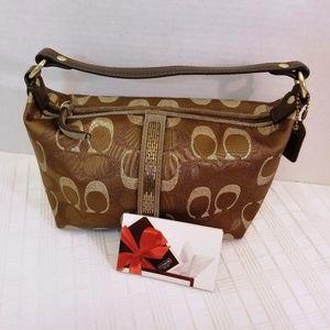 NWOT Coach Signature Mini Bag